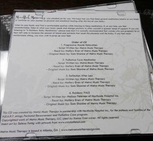 order of CD